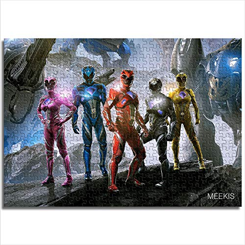 Puzzle Set 1000 Piezas Power Rangers Puzzle Family Game 26x38