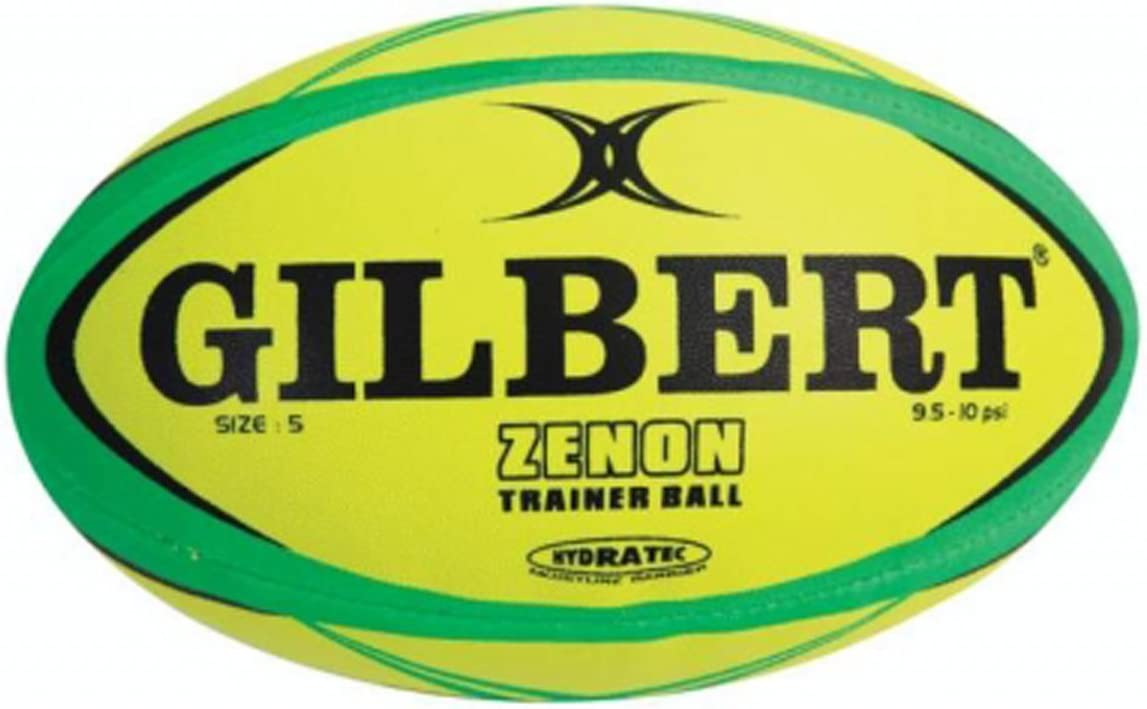 Gilbert Zenon Fluo Training Ball Mesa Mall Rugby Special sale item