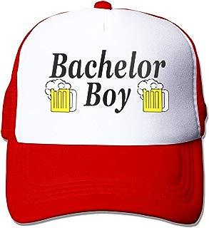 Waldeal Bachelor Boy Party Groom Hat Curved Brim Cap,Adjustable Fits Men Unconstructed Dad Hat