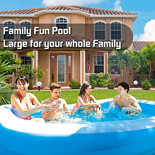 Lunvon Family Inflatable Swimming Pool, 120