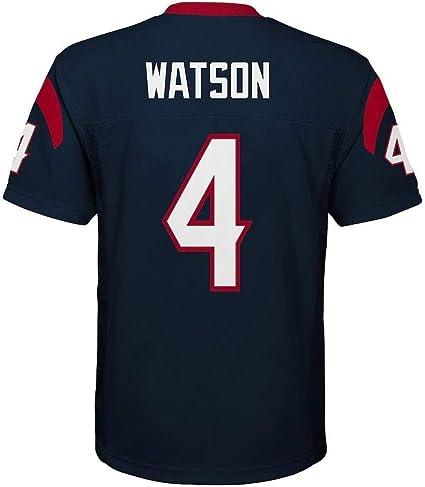 Outerstuff Deshaun Watson Houston Texans NFL Youth 8-20 Navy Home Mid-Tier Jersey