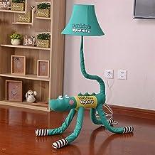 KANJJ-YU Floor Lamp, Floor Lights Child Cartoon Lovely with Remote Control Cloth Vertical Floor Lamps, Bedroom Floor Light...