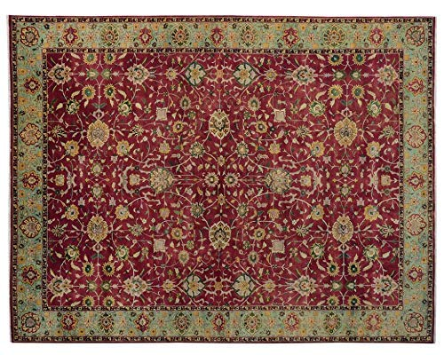 L' Atelier des Rugs Area Rug Handmade Floral Pattern Agra Design Indianapolis Mall Save money