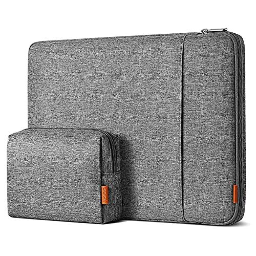 Inateck 360° R&umschutz 13 Zoll Hülle Laptoptasche Kompatibel mit 13 MacBook Air 2020M1-2018, 13 MacBook Pro 2020M1-2016, Surface Pro X/7/6/5/4, XPS13, Laptop Sleeve Hülle Laptophülle