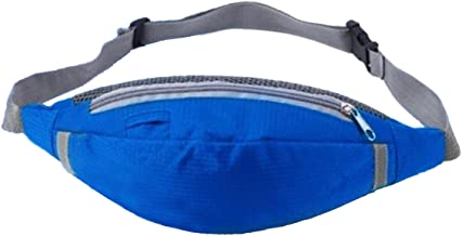 Water Resistant Waist Bag Fanny Pack/Hip Pack Bum Bag for Man Women Sports Travel Running Hiking/Money iPhone 6/7 6S / 7S Plus Samsung S5 S6