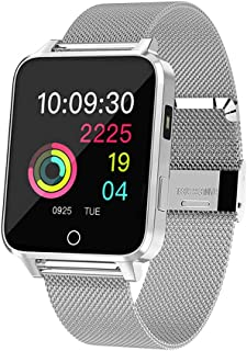 Relógio de pulso-Moda feminina em tela relógios de pulso com pulseira de lona (preto com caixa preta)