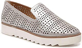 Franco Sarto Womens Florie Low Top Slip On Fashion Sneakers