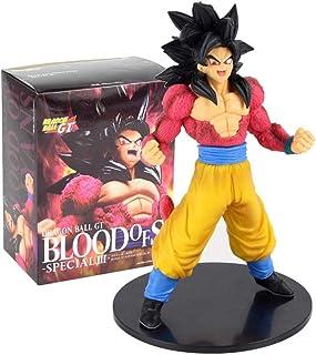 22cm Dragon Ball GT Figurita Super Saiyan 4 Blood of Saiyan Special III Son Goku SS4 PVC Figura Juguetes Muñecas de colección Modelo