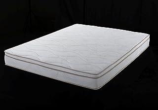 Home Life Euro Top Harmony Sleep 8-Inch Pocket Spring Luxury Mattress Green Foam Certified