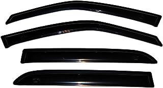 Auto Ventshade 94746 Original Ventvisor lateral defletor de janela fumaça escura, conjunto de 4 peças para 2000-2006 Cadil...