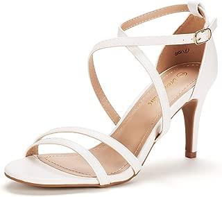 Best white sandals 3 inch heel Reviews