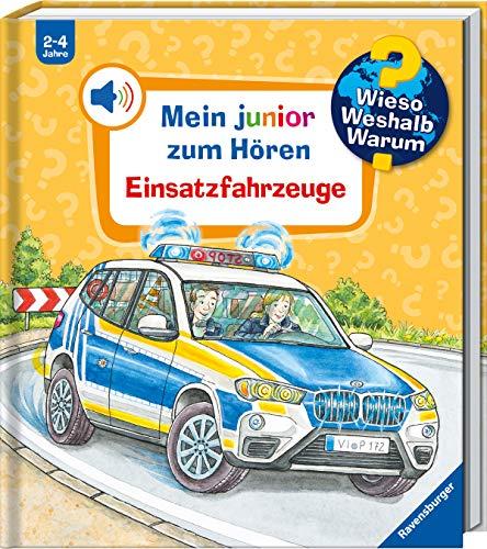 Wieso? Weshalb? Warum? junior zum Hören: Einsatzfahrzeuge (Band 2) (Wieso? Weshalb? Warum? Mein junior zum Hören (Soundbuch), 2)