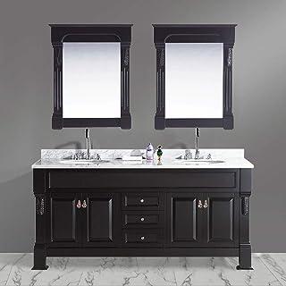 Amazoncom 72 Inch Vanity Sink Tops Bathroom Sinks Tools