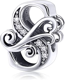 Best silver charm necklaces Reviews