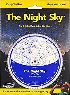 The Night Sky 20°-30° (Small) Star Finder