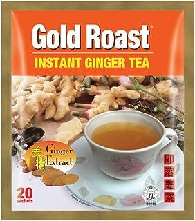Gold Roast Instant Ginger Tea, 18 g (Pack of 20)