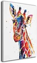 LP ART Canvas Print Wall Art Watercolor Annimals Giraffe Painting for Living Room Bedroom Modern Home Decor Ready to Hang ...