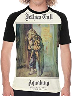 Jethro Tull Aqualung Men's Baseball T Shirt Short Sleeve Round Neck Tee