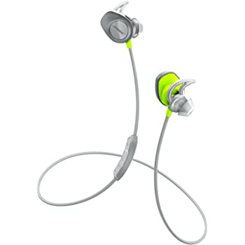 Bose SoundSport wireless headphones ワイヤレスイヤホン シトロン ヘッドホン:3.05 cm(H)x 2.5 cm(W)x 3.05 cm(D)(23 g) SSport WLSS CTN