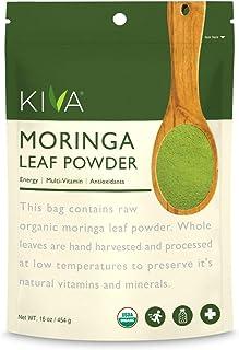 Kiva Organic Moringa Leaf Powder – Non-GMO and RAW – (1 Pound)