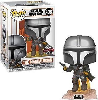 Funko POP! Star Wars #408 - El mandaloriano [volando con Blaster] Exclusivo
