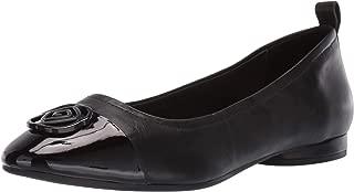Women's Penelope Ballet Flat black 12 M Medium US