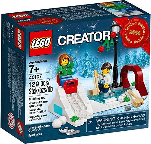 Lego Creator Christmas Ice Skating Rink Set 40107 - RARE VIP Bonus Promo by LEGO
