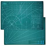 Cutting Mat for Crafts, 12' x 18' Self Healing Sewing Mat Rotary Cutting Mat Double Sided 5-Ply Craft Sewing Board for Quilting Crafts Hobby Fabric Precision Scrapbooking Project- A3