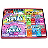 American Candy Hamper - Sweet Selection - Gift Box - Nerds - Gobstoppers - Laffy Taffy - Sweetarts - Fun Dip…