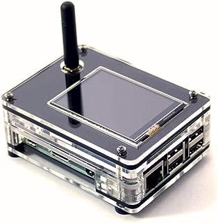 C4 Labs Zebra ZRPi-1NSX Nextion Screen Case – Raspberry Pi 3 B+, ZUMspot MMDVM, and 2.4″ Enhanced Nextion Screen (Included) ~ Black Ice