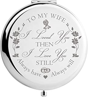 DIDADIC Wife Gifts Romantic for Birthday Mothers Day, Wifey Gifts for Bride, for Her, Women Gift Present for Valentines Day, Ideas from Husband (MIR-Wife)