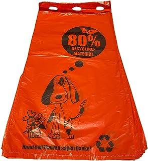 300 Hundekotbeutel aus 80% aufgearbeiteten Altfolien | 20x34 cm | Hergestellt in der EU!