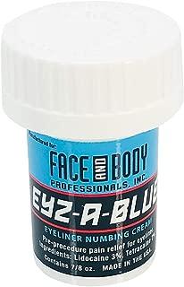 Eyz-A-Blue Topical Pre-Procedure Eyeliner Numbing Cream Tattoo Anesthetics