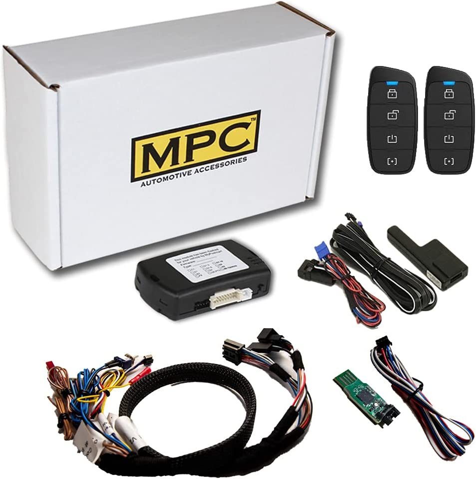 MPC Remote Starter for 2015-2020 GMC to Key Save money Limited time trial price Start Canyon Gas