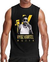 Man Fashion Workout Leisure Gym Cotton Sleeveless Tank Tshirt