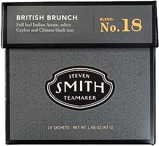 SMITH TEAMAKER(スミス・ティーメーカー)NO.18 ブリティッシュブランチ【イングリッシュブレックファスト】個包装ティーバッグ15包入り