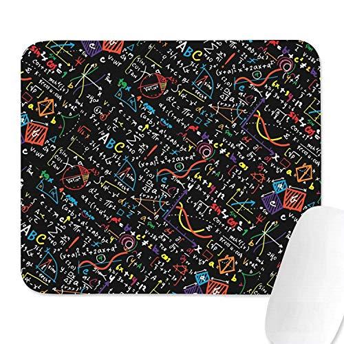 Family Game Office Mouse Pad Die Liebesformel Gleichungen Stil Komfortable rutschfeste Gummi rechteckige Handballenauflage
