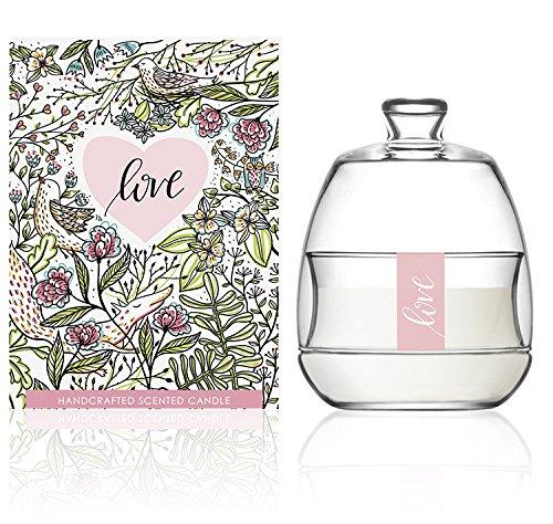 We Love Home - Candela profumata 100% vegetale con fragranza al Lampone Modello Love Apothecarium