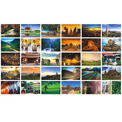 Artistic Beautiful 30 PCS 1 Set Vintage Retro Postcards Greeting Cards Souvenir Gifts for Worth Collecting,London