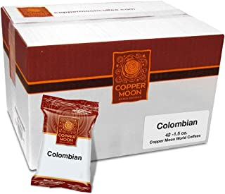 Copper Moon Colombian Coffee Portion Packs 1.5 Ounces 42 Count