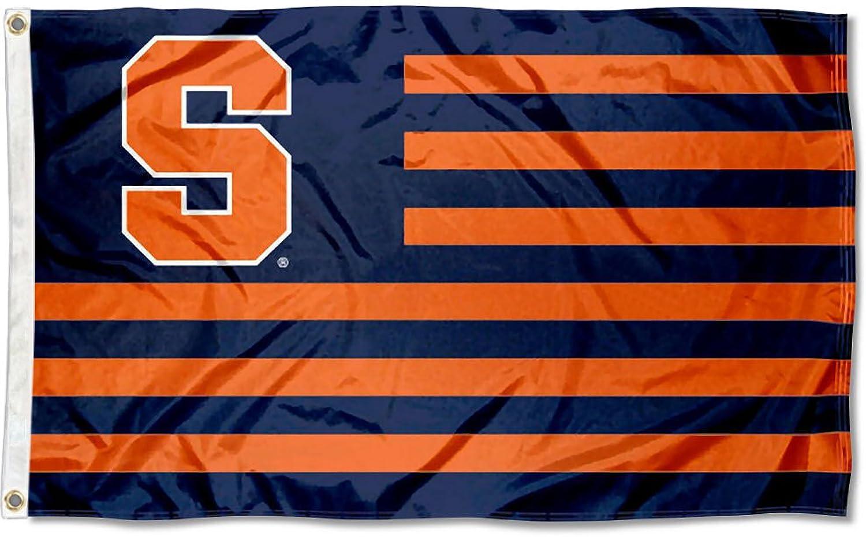 Syracuse orange Stars and Stripes Nation Flag