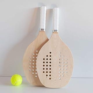 Racchette beach tennis - Racchettoni mare in legno