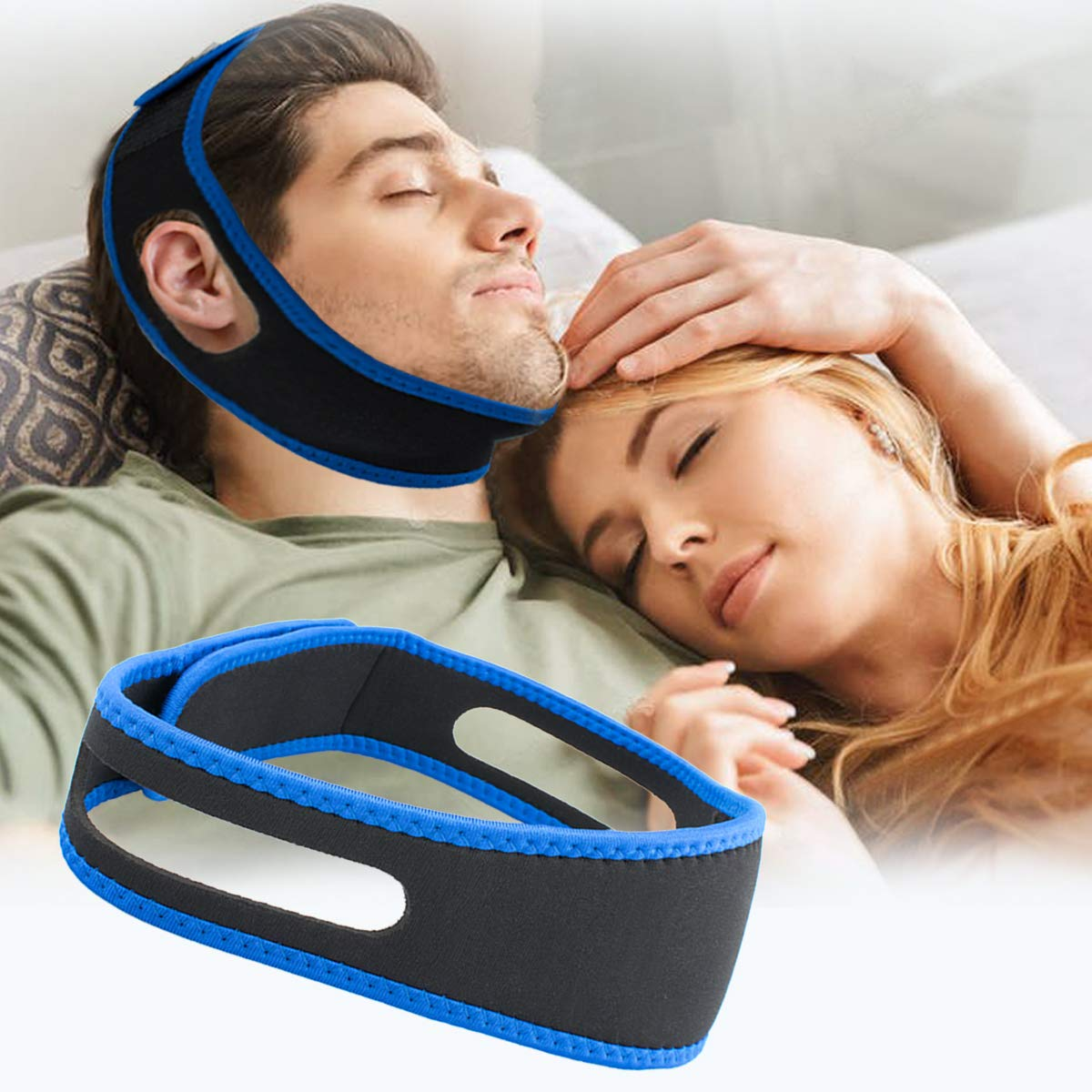 Anti Snoring Chin Strap,Snoring Solution Anti Snoring Devices Effective Stop  Snoring Chin Strap for Men Women Adjustable Snore Reduction Chin Straps  Snore Stopper Advanced Sleep Aids for Better Sleep - Buy Online