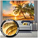 GREAT ART® XXL Poster – Barbados Strand im