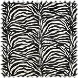 Auslaufware! Webpelz/Tierfellimitat Zebra klein Gemustert