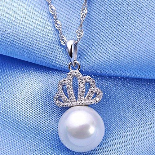 Axiba Couronne Naturelle Shell Perles Bijoux Accessoires de Pull Fille Bijoux Collier Cent Tours Cadeaux de Vacances