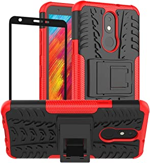 LG Aristo 4+ Plus Case, LG Prime 2/LG Arena 2/LG Tribute Royal/Escape Plus/LG Journey LTE Cover, Yiakeng Shockproof Slim P...