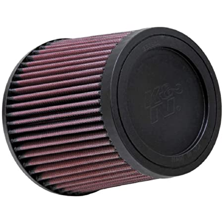 Washable Shape: Round Premium Replacement Engine Filter: Flange Diameter: 2.5625 In Filter Height: 3 In K/&N Universal Clamp-On Air Filter: High Performance RA-063V Flange Length: 0.75 In