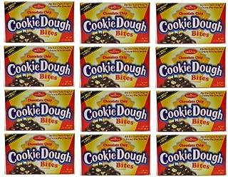 THE Original Chocolate Chip Cookie Dough Bites: 12 Packs of 3.1 Oz - Dt20