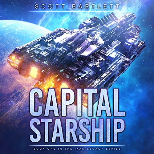 Capital Starship audiobook cover art